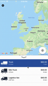 Logistics App Solution in London and Texas