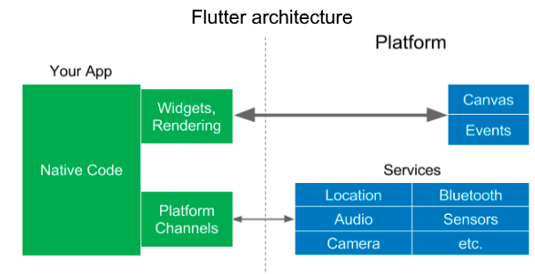 Flutter with Native App Development in Dallas and Texas