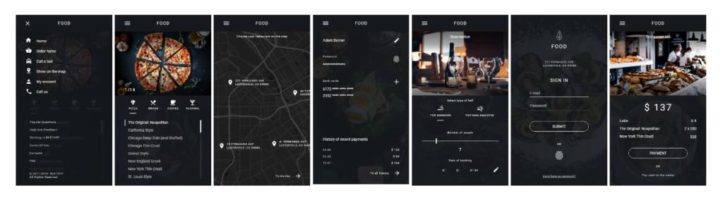 food delivery app development company like Foodpanda