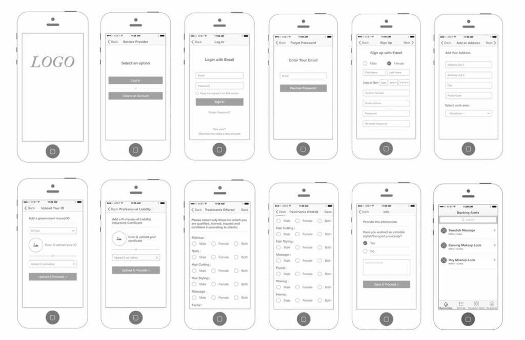 A Step by Step Guide to Creating Mobile App Wireframes