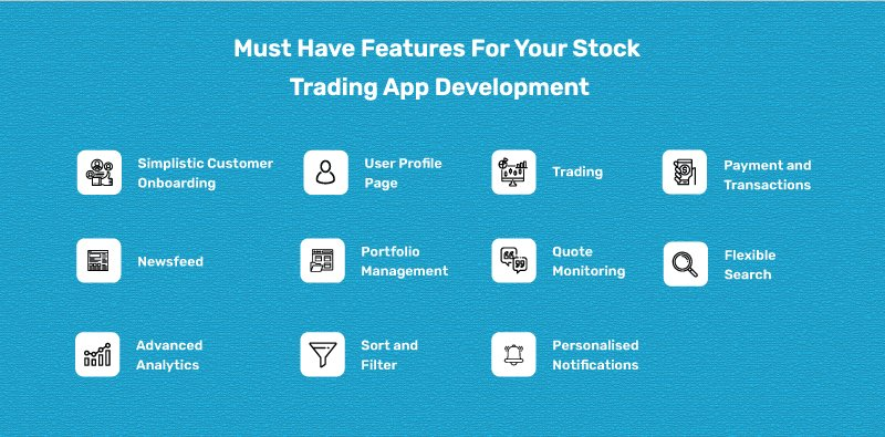 Must-Have Features for Stock Trading App