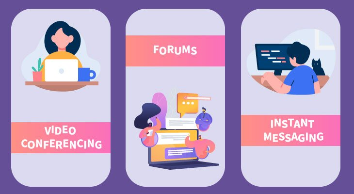 e-learning app features